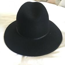Topshop Black Fedora Hat