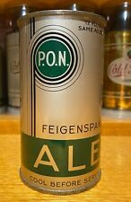 Feigenspan P.O.N. Ale Flat Top Beer Can- USBC 62-38 AWESOME CONDITION (IRTP)