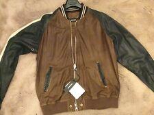 diesel mans leather jacket xxl