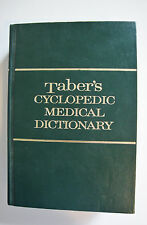 Taber's Cyclopedic Medical Dictionary- Edition 16 - 1989 - Hardcover (G 6)