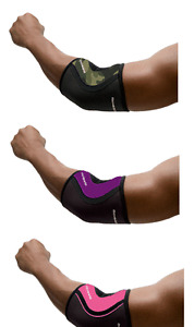 Rehband Rx Elbow Sleeve Camo, Purple, Pink