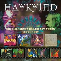 HAWKWIND - THE EMERGENCY BROADCAST YEARS 1994-1997 REMASTERED 5 CD NEW!