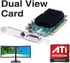 Dell 256 Mo ATI Radeon X1300 PCI-E DMS-59 double affichage carte graphique sortie TV gj501