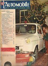 L'AUTOMOBILE 153 1959 BMW 600 AC BRISTOL RUSHMATIC FREGATE TRANSFLUIDE COOPER