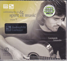 Celebrating The Art & Spirit of Music Vol.1 Leonardo Amuedo Audiophile CD New