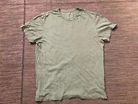 J Crew Adult Mens Medium Broken In Tee T Shirt Green 73431