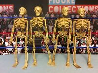 Action Figure Display Accessory Skeletons Lot of 4 Accessories WWE Mortal Kombat