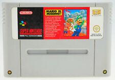 Mario is Missing-Super Nintendo SNES-solo módulo bien