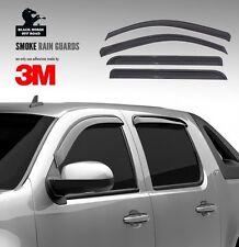 Black Horse 2015-2018 Ford Edge Window Vent Visors Rain Guards 140660