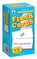 Carson-dellosa Basic Sight Words Flash Card Set - Word (cd3910)