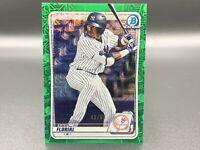 Estevan Florial 40/99 2020 Bowman Chrome Mojo Green Refractor BCP-223 NY Yankees