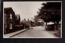 Walton Village - near Wakefield - real photographic postcard