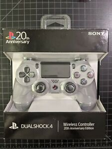 PS4 20th Anniversary Edition Wireless Controller, DualShock 4, Gray - Brand New