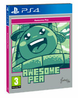 Awesome Pea - Sony Playstation 4 [PS4 Sometimes You Arcade Platformer] NEW