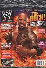 WWE Magazine December 2011 The Rock, Bret Hard, Shawn Michaels EX 121115DBE