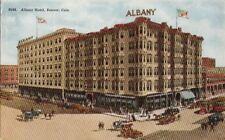 Postcard Albany Hotel Denver Co