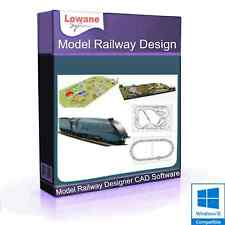 Design Build Model Railway Layout Track Plans CAD Software OO (Digital Download)