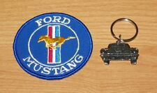 Ford Mustang - Key Chain & Patch Set