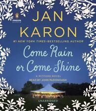 Come Rain or Come Shine by Jan Karon (English) Compact Disc Book Free Shipping!