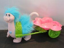 RARE Vintage Snugglebumms Tuggles The Dinosaur w flower cart 1985