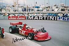 Arturo Merzario Firmato a Mano 12x8 photo formula 1 f1.