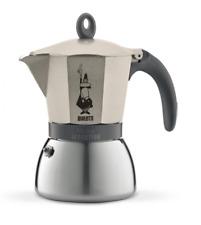 Bialetti Mocca Induction Espresso Maker Percolator Champagne 3 Cups