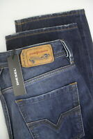 RRP€135 DIESEL LARKEE 0838B Men W31/L30 Straight Jeans With Fades Whiskers 7139*