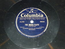 NORMAN ALLIN & CHORUS - The Magic Flute - Columbia 78 Record