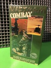 VIETNAM COMBAT-VHS Burbank Video RARE Real Combat Footage Documentary NEW SEALED