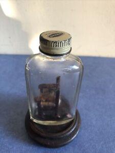Vintage American Miniature Whimsey Bottle, Circa 1950