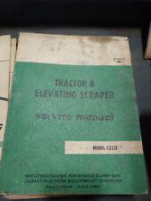 MODEL C2227 TRACTOR & ELEVATING SCRAPER SERVICE MANUAL - WABCO