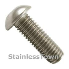 18-8 Stainless Steel Button Head Bolts 1/4-20 x 1/2 Pack of 10