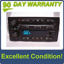 02 03 GMC Envoy CHEVY Trailblazer Bravada RDS Radio 6 Disc Changer CD Player OEM
