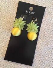 J. Crew Pineapple Earrings Citron Thread Drop Earrings Factory NWT