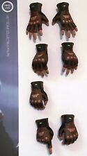 Captain America Winter Soldier gloved hands Sideshow Hot Toys MMS243 1:6 Marvel