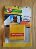 Kodachrome II Color Movie Film Dbl 8mm 25 ft Daylight Sealed Box K459 May 69