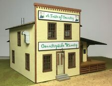 Motrak Models S Scale Countryside Winery - 63400 Building Kit