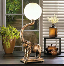 Elephant Trunk Globe Accent Lamp Dramatic - New