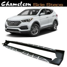 Running Boards / Side Steps for use on Hyundai Santa Fe 2013 to Present