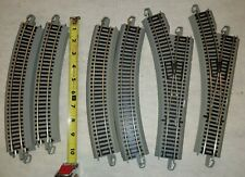 BACHMANN E-Z TRACK 2 SWITCH LEFT PLUS MORE, NICKLE SILVER GRAY ROAD BED. HO. (9G
