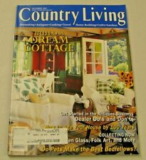 Country Living Magazine October 1997 Build a Dream Cottage