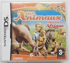 jeu SOS ANIMAUX MISSION EN AFRIQUE sur nintendo DS en francais game spiel juego