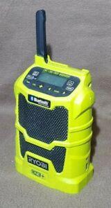 Ryobi One+ 18v Cordless AM/FM/Aux/Bluetooth Site Radio - R18R (Body Only)