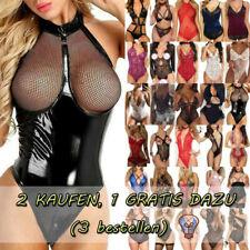 Sexy Damen Nachtwäsche Dessous Reizwäsche Unterwäsche Schlafanzug Bodysuit NEU