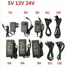 AC110 220V Power Supply Adapter  LED Strip 1A 2A 3A 5A 8A 10A DC 5V 12V 24V