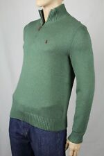 Polo Ralph Lauren Green 1/2 Half Zip Sweater NWT X-Large XL