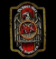 SLAYER cd lgo BIER LABEL 666 Official SHIRT SMALL New schwarzbier