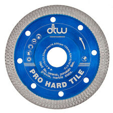 Porcelain Tile Cutting Diamond Blade Disc. Thin Turbo. 125mm. 5in Angle Grinder