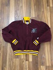 Vintage Chicago Wolves Red Starter Pullover Jacket Sz M