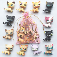 5pcs lot Random LPS short hair Cat Littlest Pet Shop kitty toy surprise gift